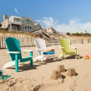Three Poly Children's Adirondack Chairs