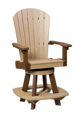 Great Bay Counter Height Poly Swivel Chair