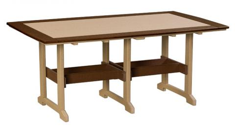 Poly Counter Height Rectangular Tables