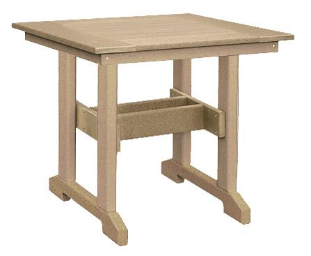 Square Poly Dining Table