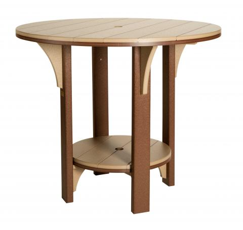 Round Poly Counter Height Tables