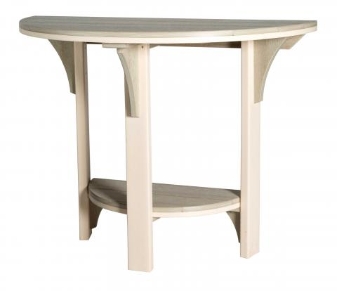 Half Round Poly Dining Table