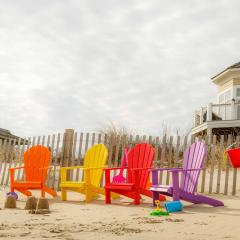 Colorful children's poly adirondack chairs