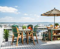 Great Bay bar table and chairs