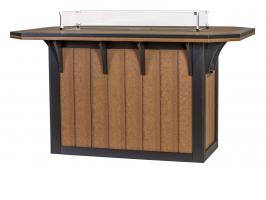 4' x 6' SummerSide Fire Table - Bar Height