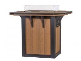 4' x 4' SummerSide Fire Table Bar Height