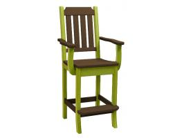 Keystone Poly Bar Chair with Arms