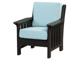 Poly Mission Arm  Chair