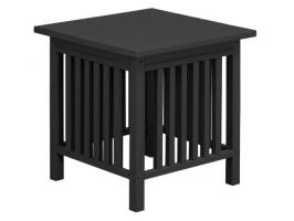 Poly Mission End Table
