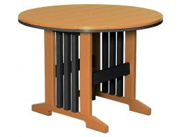 Keystone Round Poly Dining Table