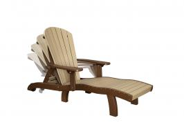 SeaAira Poly Lounge Chair with Arms and Adjustable Back